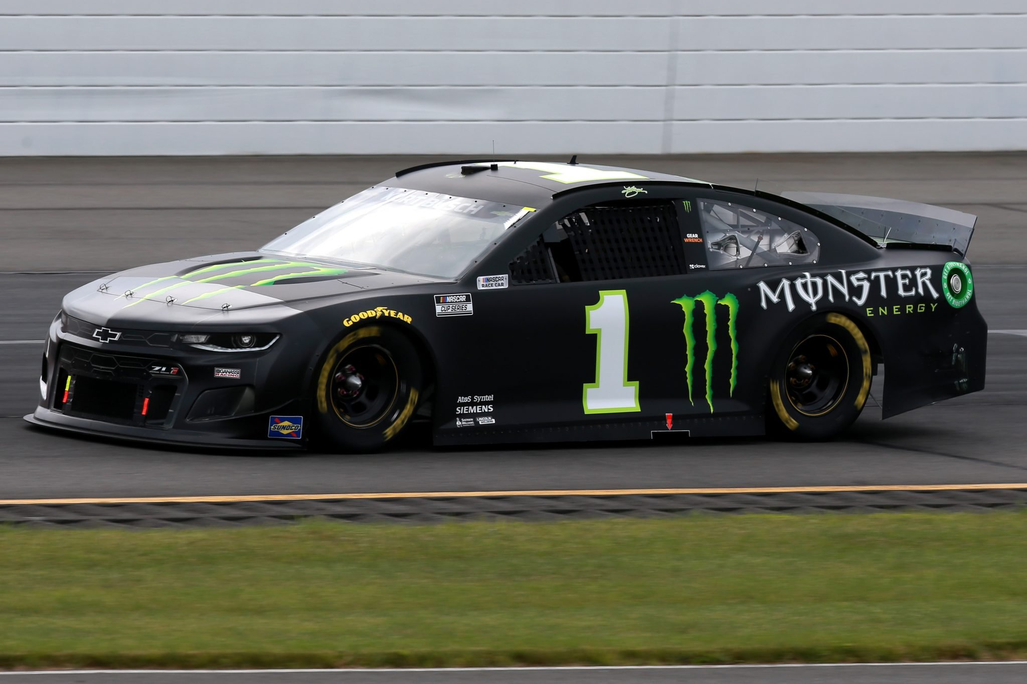 LONG POND, PENNSYLVANIA - JUNE 26: Kurt Busch, driver of the #1 Monster Energy Chevrolet, drives during the NASCAR Cup Series Pocono Organics CBD 325 at Pocono Raceway on June 26, 2021 in Long Pond, Pennsylvania. (Photo by Sean Gardner/Getty Images) | Getty Images