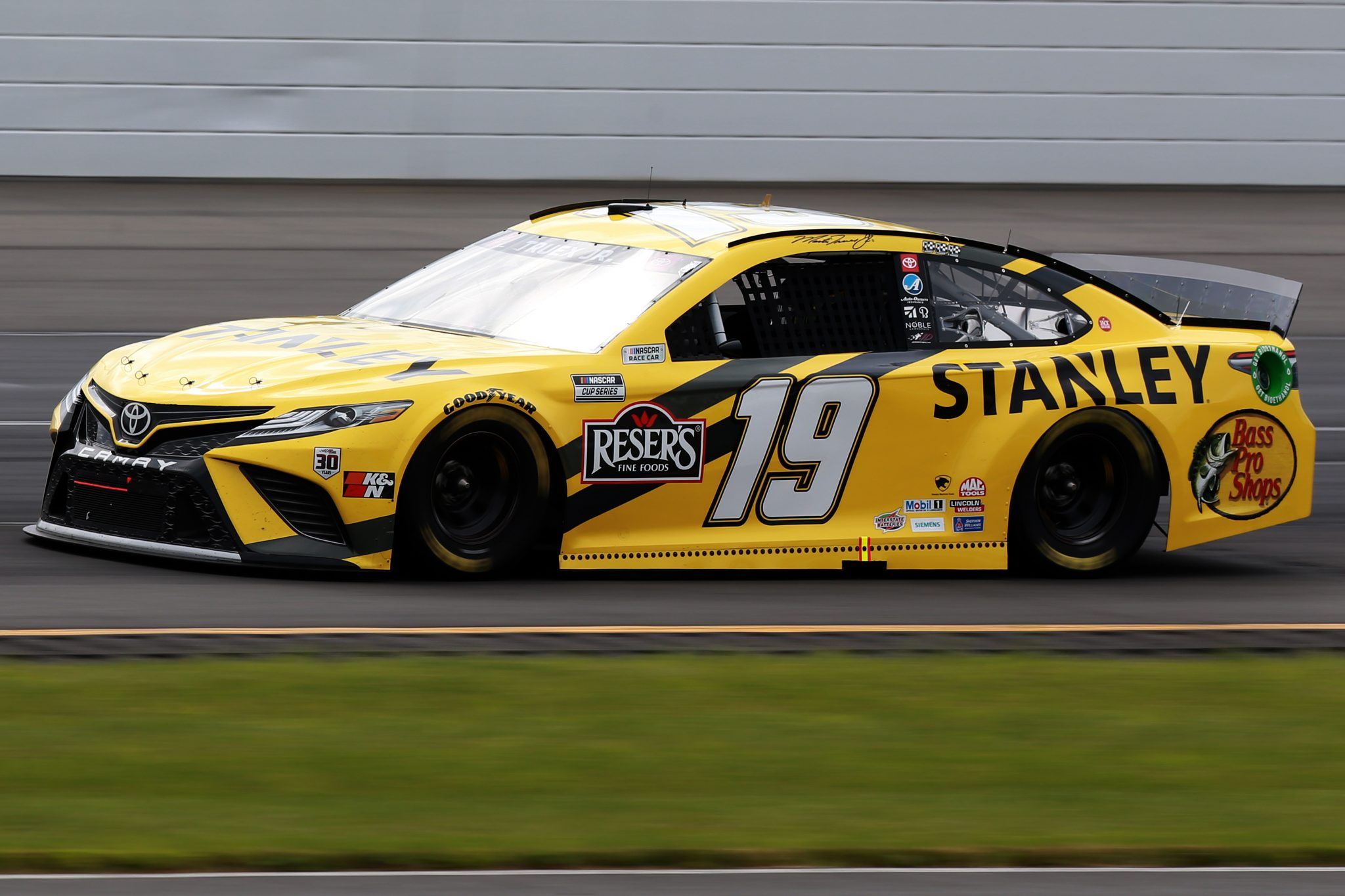 LONG POND, PENNSYLVANIA - JUNE 26: Martin Truex Jr., driver of the #19 STANLEY Toyota, drives during the NASCAR Cup Series Pocono Organics CBD 325 at Pocono Raceway on June 26, 2021 in Long Pond, Pennsylvania. (Photo by Sean Gardner/Getty Images) | Getty Images
