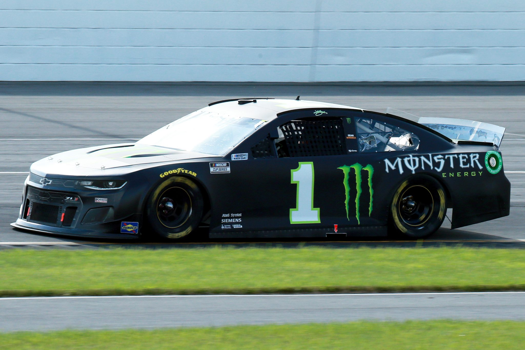 LONG POND, PENNSYLVANIA - JUNE 27: Kurt Busch, driver of the #1 Monster Energy Chevrolet, drives during the NASCAR Cup Series Explore the Pocono Mountains 350 at Pocono Raceway on June 27, 2021 in Long Pond, Pennsylvania. (Photo by Sean Gardner/Getty Images) | Getty Images