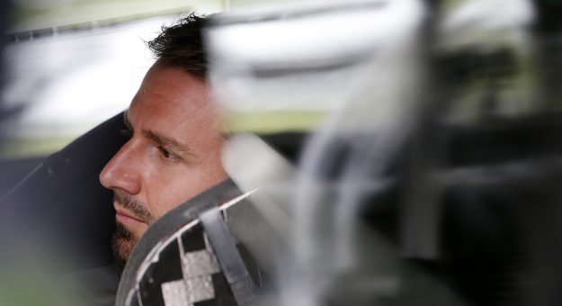 CONCORD, NORTH CAROLINA - MAY 29: Matt DiBenedetto, driver of the #21 Menards/Masterforce Tools Ford, sits in his car during qualifying for the NASCAR Cup Series Coca-Cola 600 at Charlotte Motor Speedway on May 29, 2021 in Concord, North Carolina. (Photo by Brian Lawdermilk/Getty Images) | Getty Images