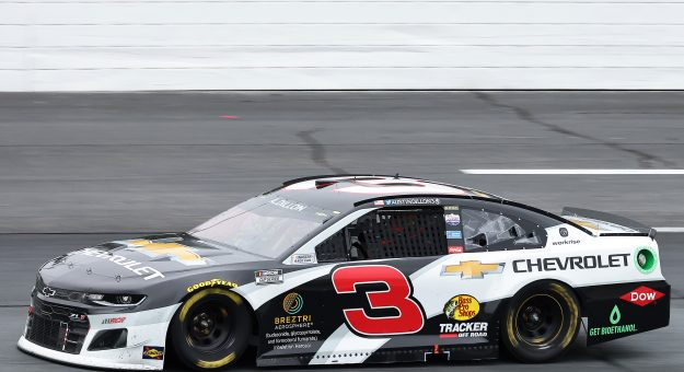LOUDON, NEW HAMPSHIRE - JULY 18: Austin Dillon, driver of the #3 Chevrolet, drives during the NASCAR Cup Series Foxwoods Resort Casino 301 at New Hampshire Motor Speedway on July 18, 2021 in Loudon, New Hampshire. (Photo by James Gilbert/Getty Images)   Getty Images