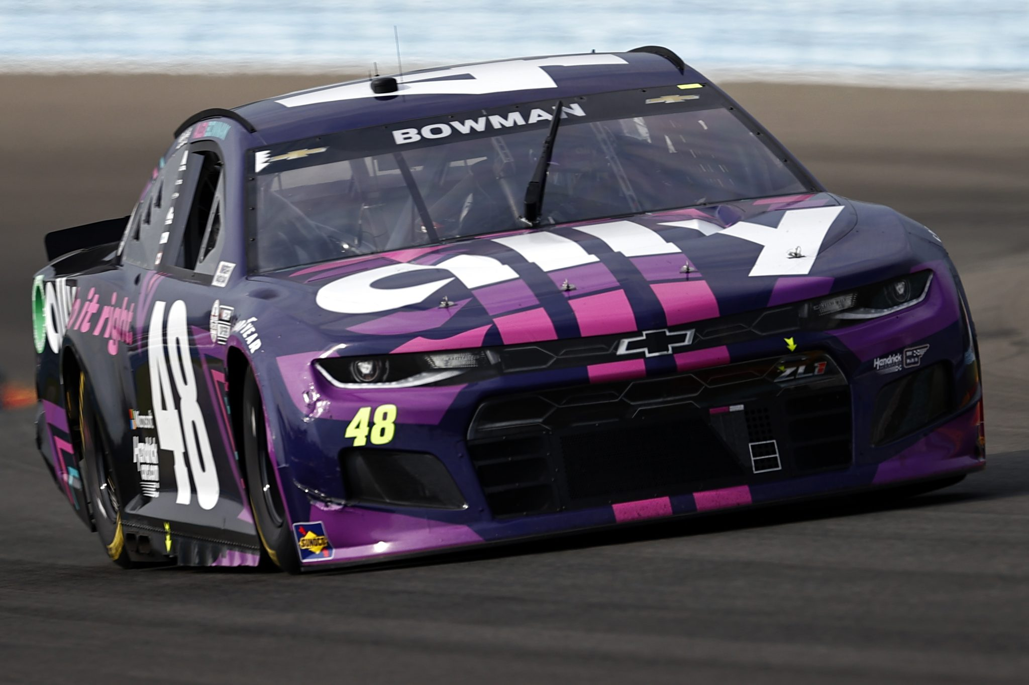 WATKINS GLEN, NEW YORK - AUGUST 08: Alex Bowman, driver of the #48 Ally Chevrolet, drives during the NASCAR Cup Series Go Bowling at The Glen at Watkins Glen International on August 08, 2021 in Watkins Glen, New York. (Photo by Jared C. Tilton/Getty Images) | Getty Images