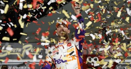 Denny Hamlin Secures Spot in Round of 8 with Las Vegas Win