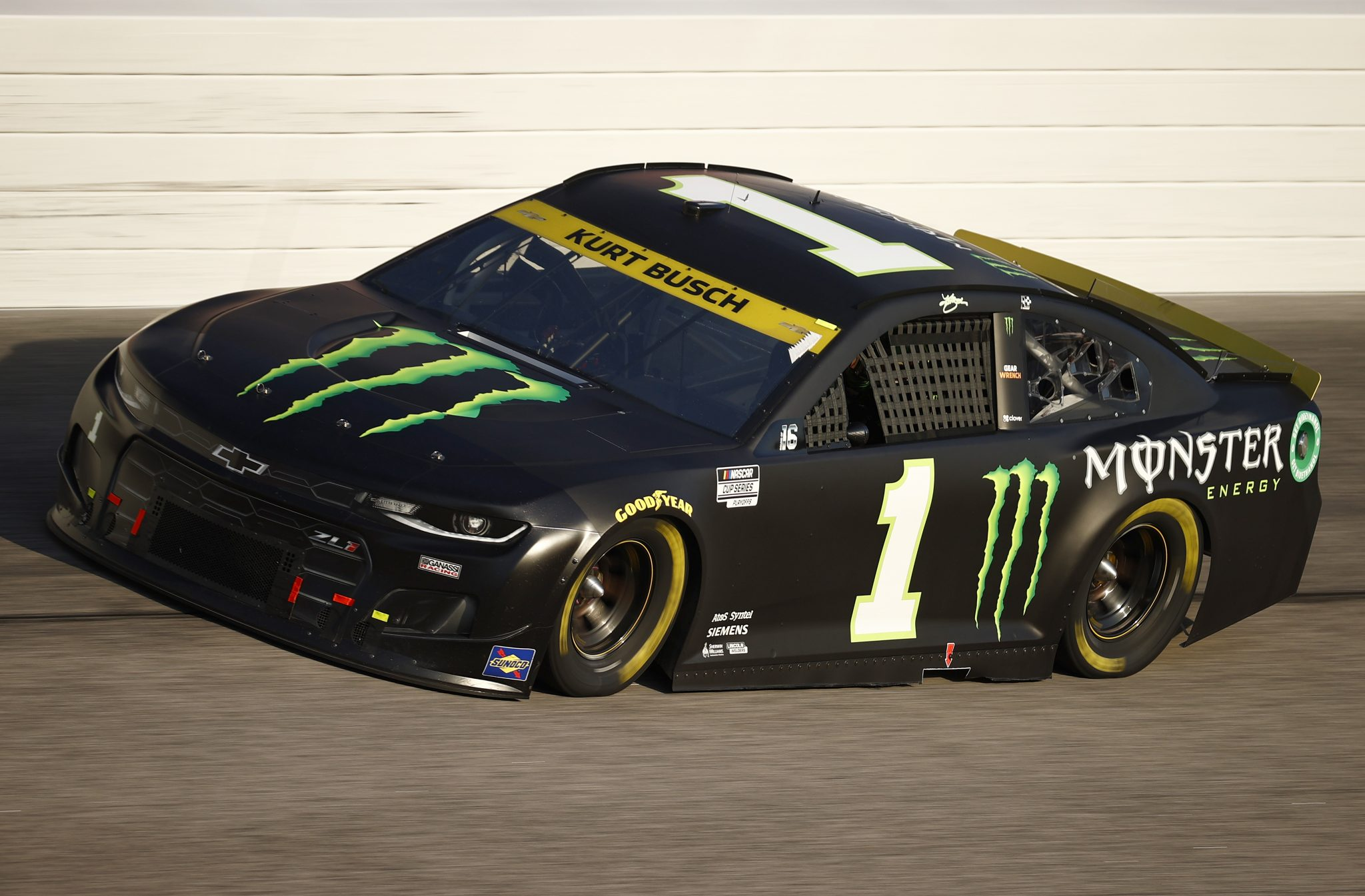 DARLINGTON, SOUTH CAROLINA - SEPTEMBER 05: Kurt Busch, driver of the #1 Monster Energy Chevrolet, drives during the NASCAR Cup Series Cook Out Southern 500 at Darlington Raceway on September 05, 2021 in Darlington, South Carolina. (Photo by Jared C. Tilton/Getty Images) | Getty Images
