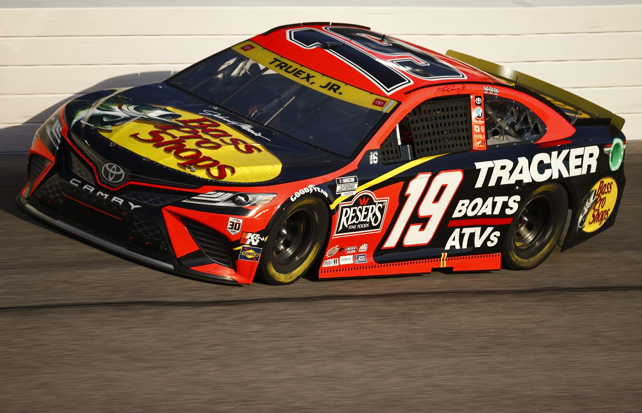 DARLINGTON, SOUTH CAROLINA - SEPTEMBER 05: Martin Truex Jr., driver of the #19 Bass Pro Toyota, drives during the NASCAR Cup Series Cook Out Southern 500 at Darlington Raceway on September 05, 2021 in Darlington, South Carolina. (Photo by Jared C. Tilton/Getty Images) | Getty Images