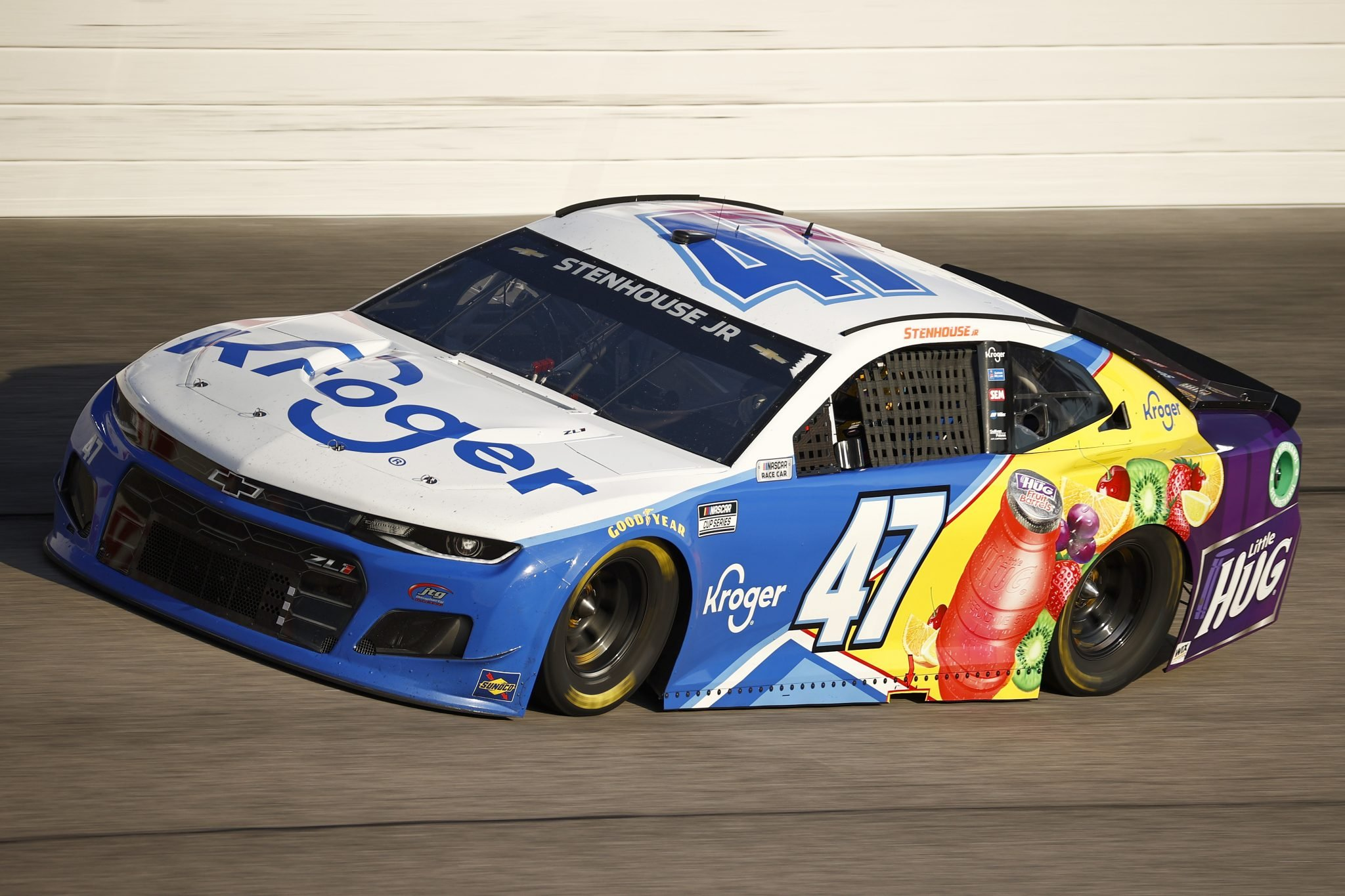 DARLINGTON, SOUTH CAROLINA - SEPTEMBER 05: Ricky Stenhouse Jr., driver of the #47 Kroger/Little Hug Chevrolet, drives during the NASCAR Cup Series Cook Out Southern 500 at Darlington Raceway on September 05, 2021 in Darlington, South Carolina. (Photo by Jared C. Tilton/Getty Images)   Getty Images